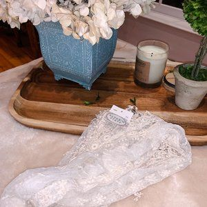Altar'd State White Lace Scarf